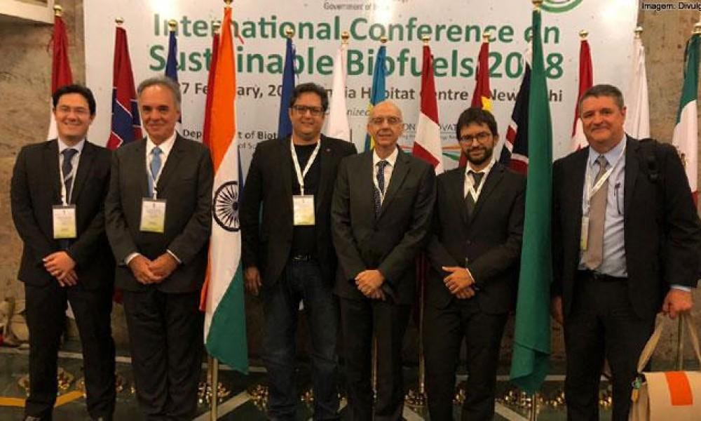 Comitiva brasileira defende biocombustíveis em Conferência na Índia