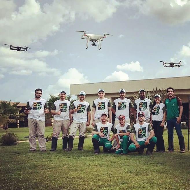 Aumenta a utilização de drones no monitoramento das lavouras de cana